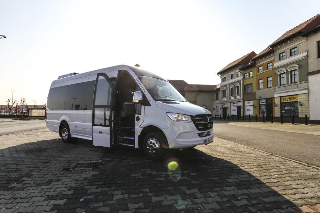 uus reisi mikrobuss MERCEDES-BENZ 516  *coc* 5500 kg