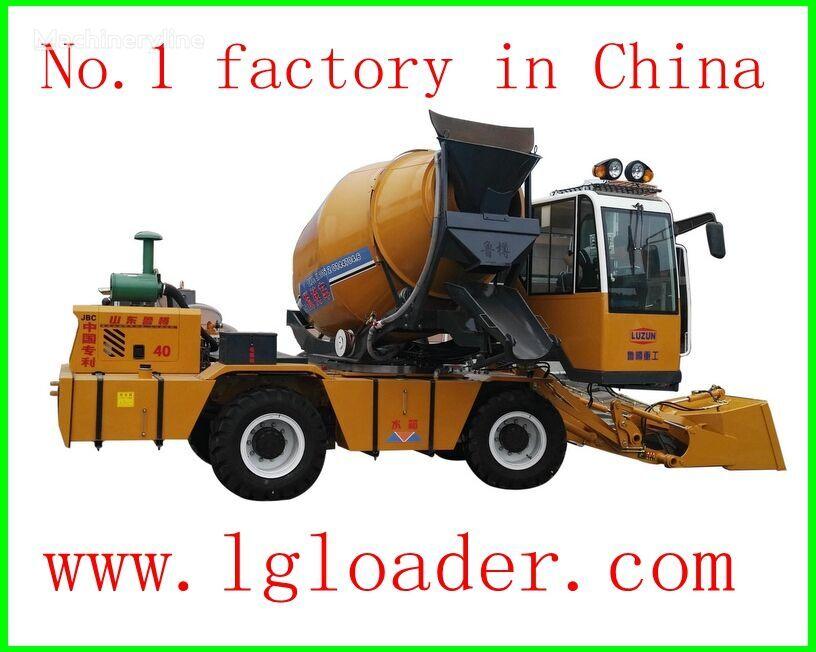 uus allmaakaevanduse laadur selfloading concrete mixer