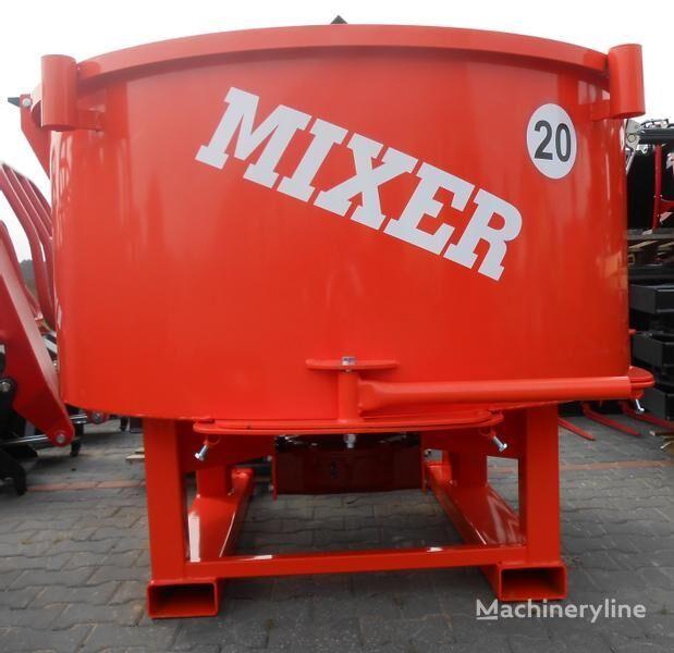 uus betoonisegisti Agro- Factory MIXER Traktor-Betonmischer/ Betoniarka ciągnikowa