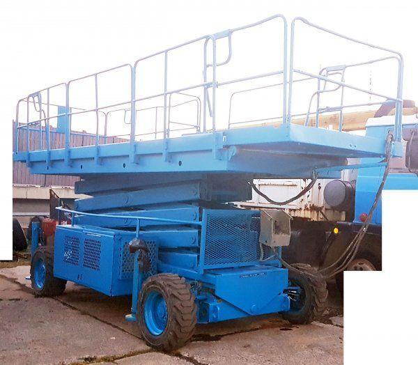 käärtõstuk UPRIGHT 17m diesel 4x4 (Snorkel LX 50