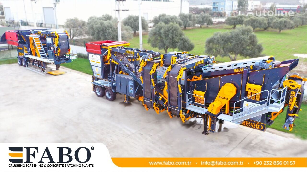 uus purusti FABO MOBİLE HARD STONE CRUSHER BEST PRİCE MCK-95