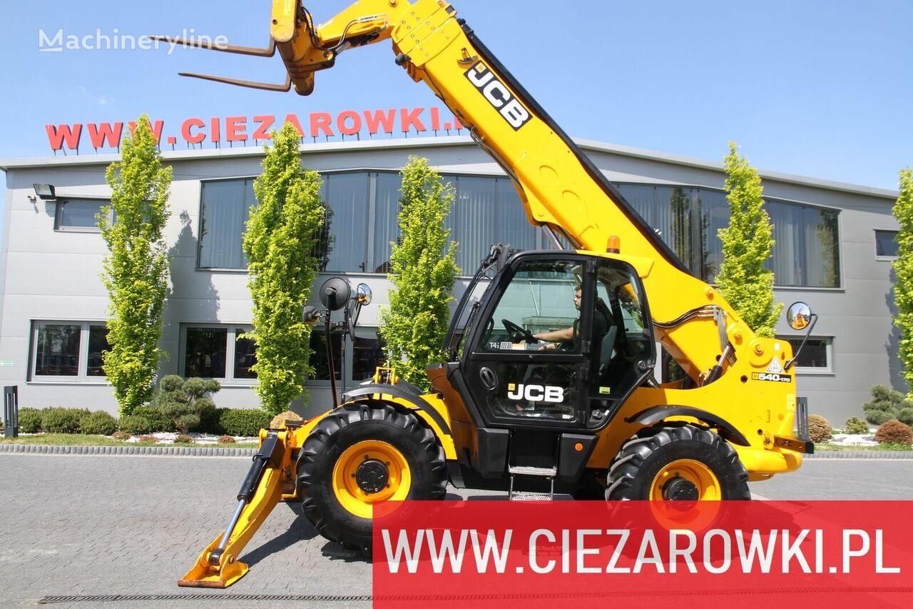 rataslaadur JCB 540-170 Hi-Viz / 4x4x4 / 17m-4,000kg / Powershift