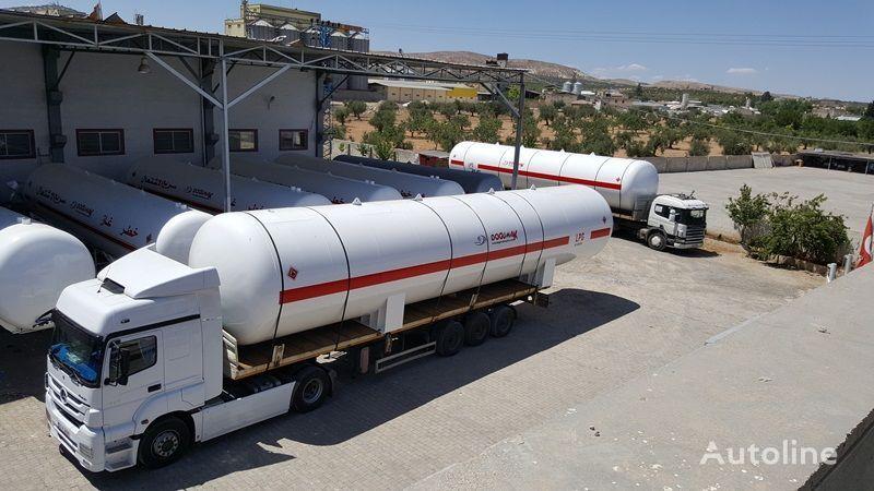 uus gaasitsistern DOĞUMAK 115 M3 LPG STORAGE