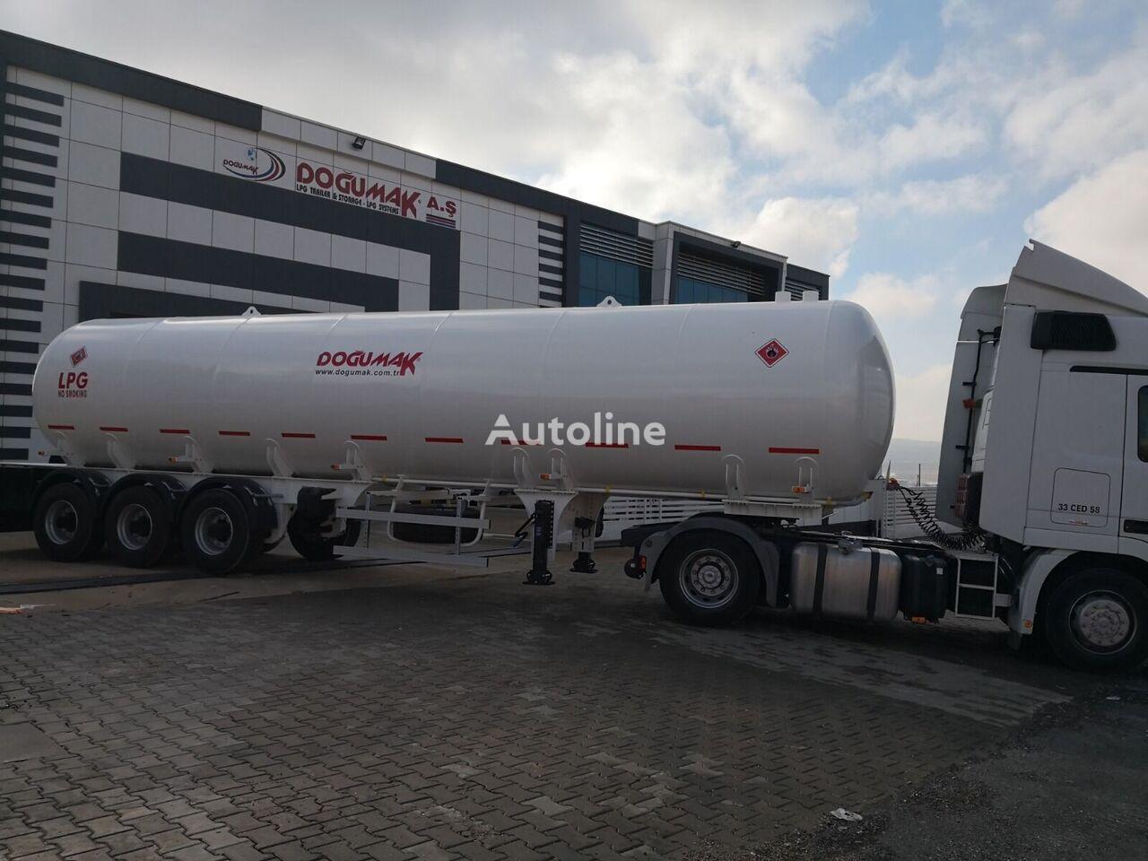 uus gaasitsistern DOĞUMAK 2019 GPL semi-remorque