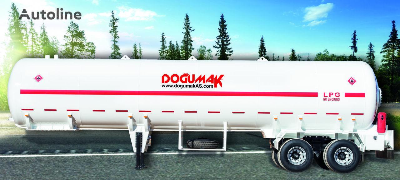 uus gaasitsistern DOĞUMAK 45-60 M3 LPG SEMI TRAILER TRANSPORT TANKER TANDEM AXLE