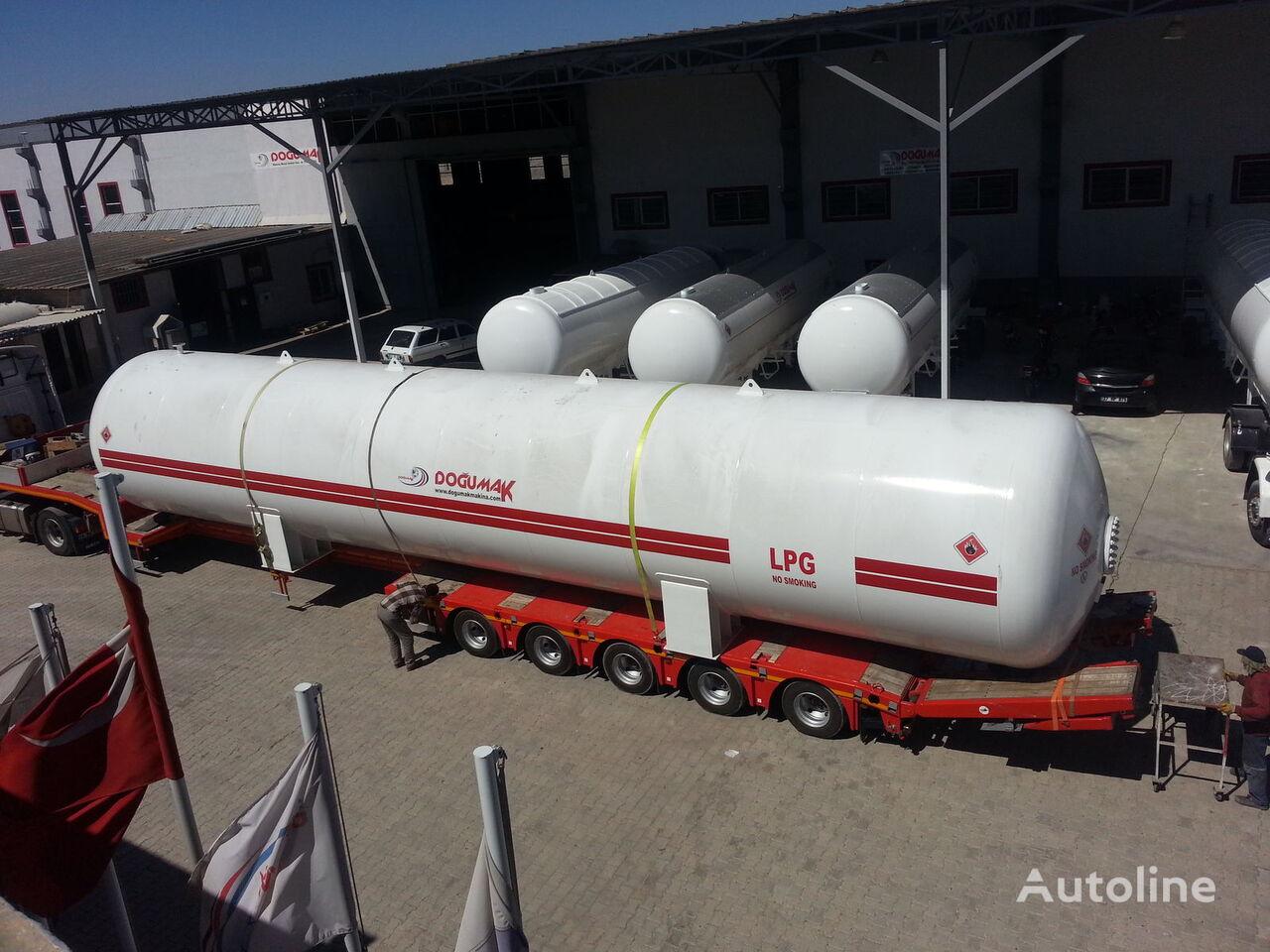 uus gaasitsistern DOĞUMAK INDUSTRIAL LPG STORAGE TANKS