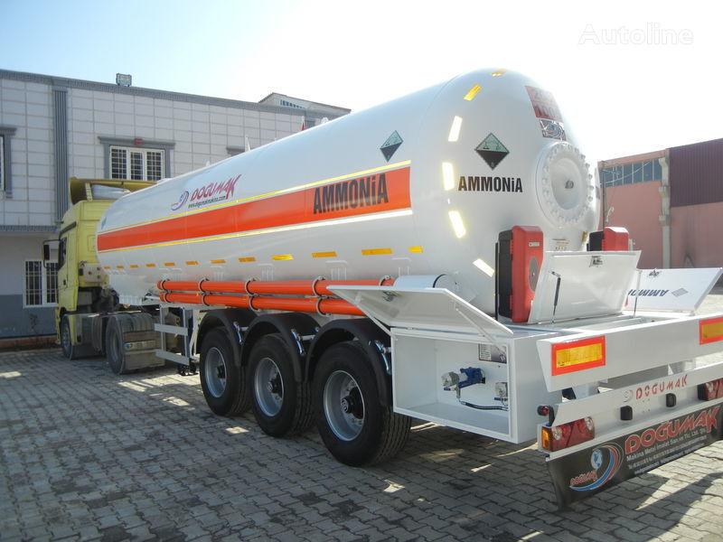uus gaasitsistern DOĞUMAK SEMI-TRAILER  35M3 AMMONIA (NH3)