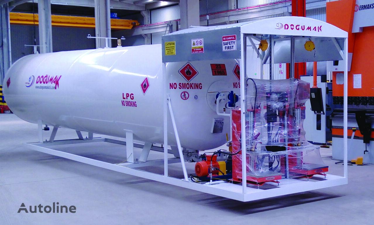 uus gaasitsistern DOĞUMAK Skid System (Double Digital Scales)
