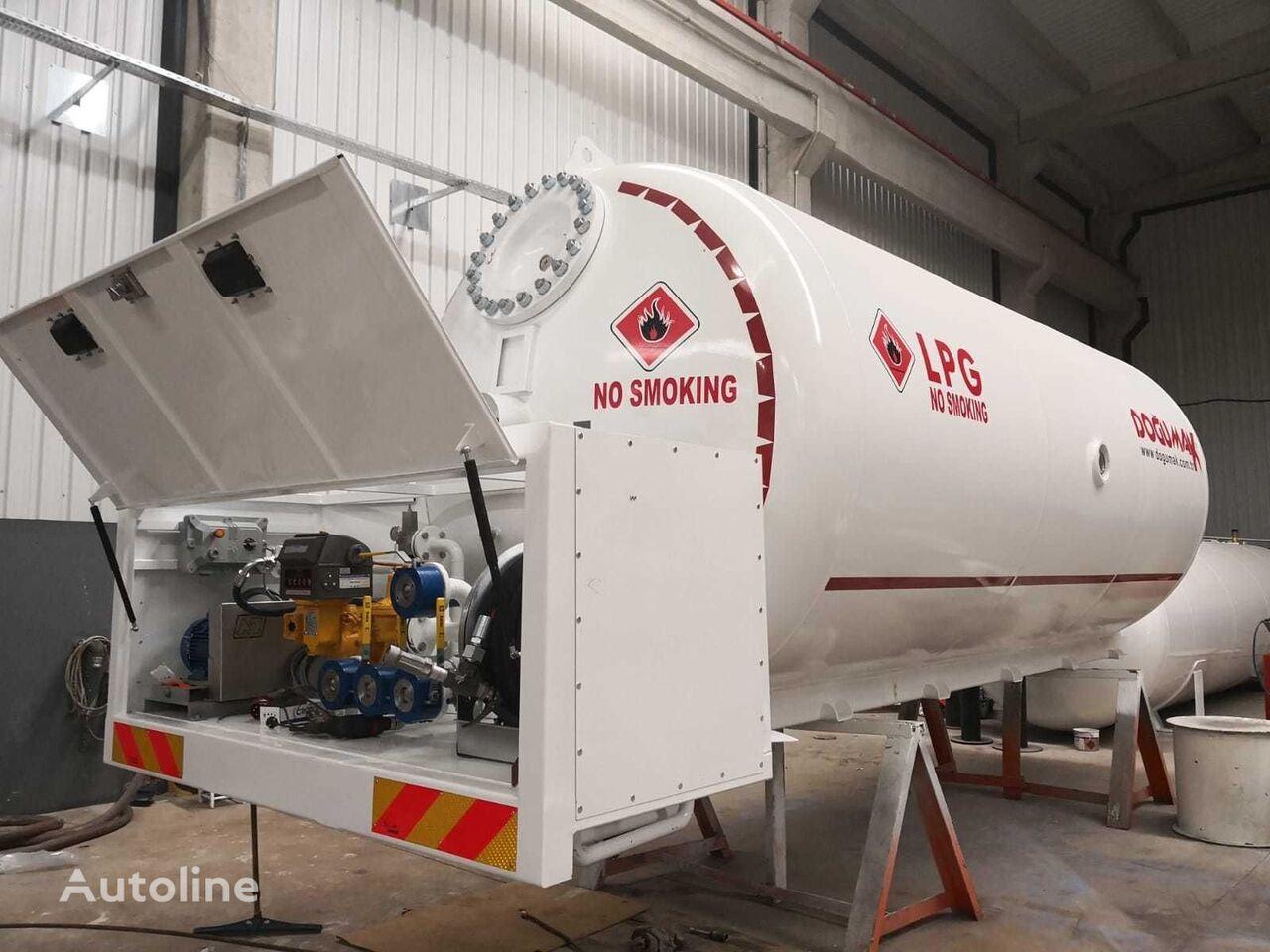 uus gaasitsistern DOĞUMAK bobtail tank 24000 liter gas, LPG , GPL , GAZ, PROPANE, BUTANE