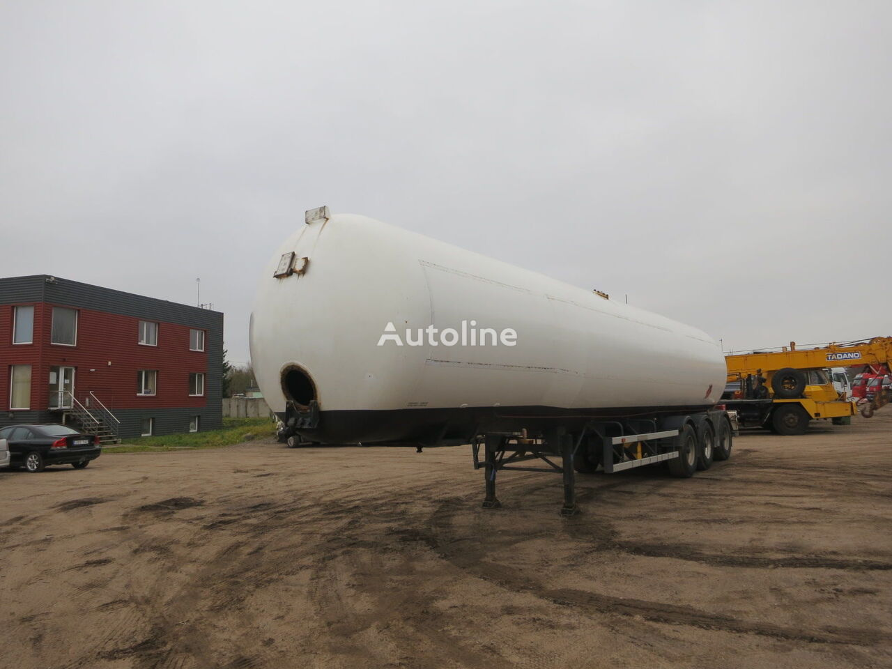 gaasitsistern OMSP MACOLA 63 000 liter.