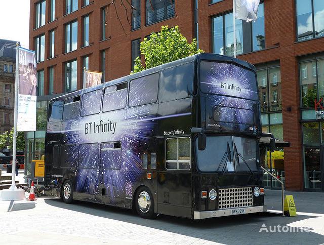 kahekorruseline buss MCW METROBUS British Double Decker Bus Marketing Exhibition Training