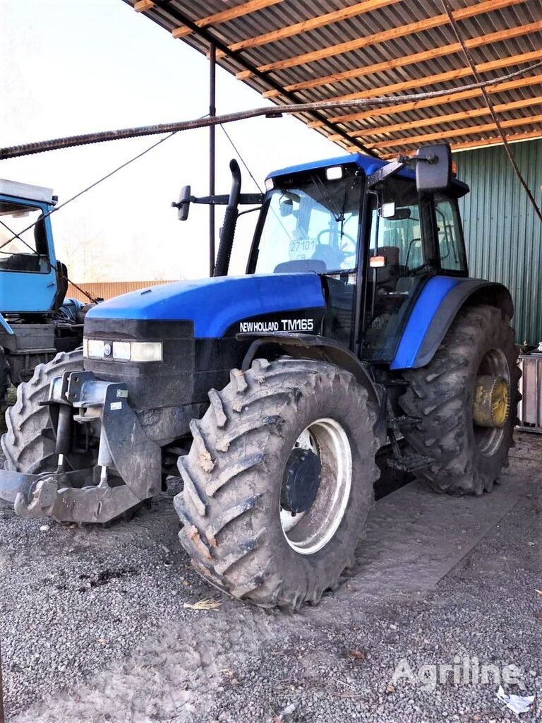 ratastraktor NEW HOLLAND TM 165
