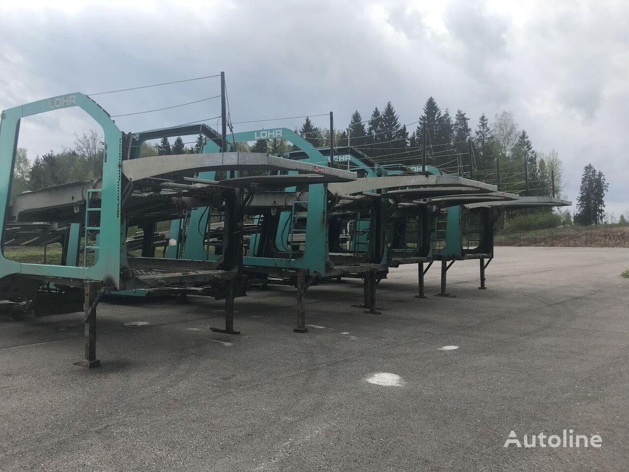 autotreiler poolhaagis LOHR Eurolohr 1.21  Fully galvanised