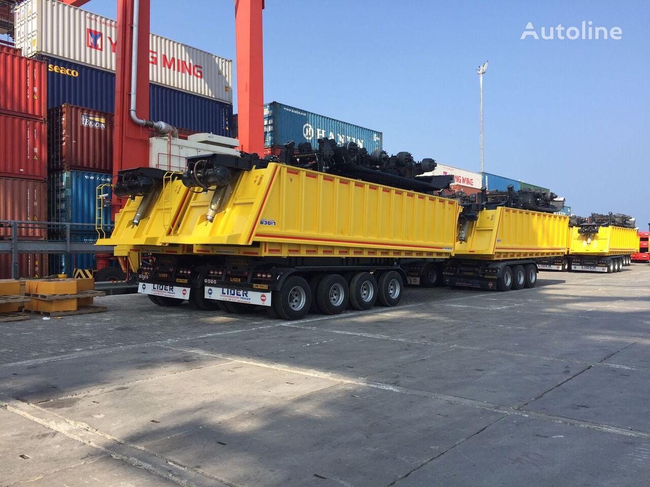 uus kallur poolhaagis LIDER 2019  new dumper from manufacturer company LIDER TRAILER
