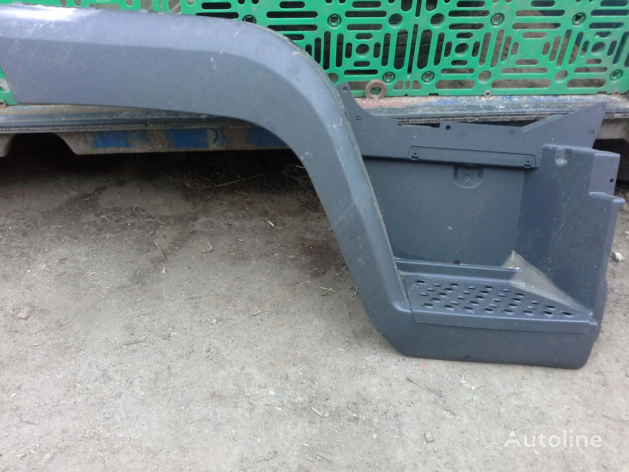 astmelaud MAN Podnozhka, krylo, podkrylnik tüübi jaoks veoauto MAN L2000
