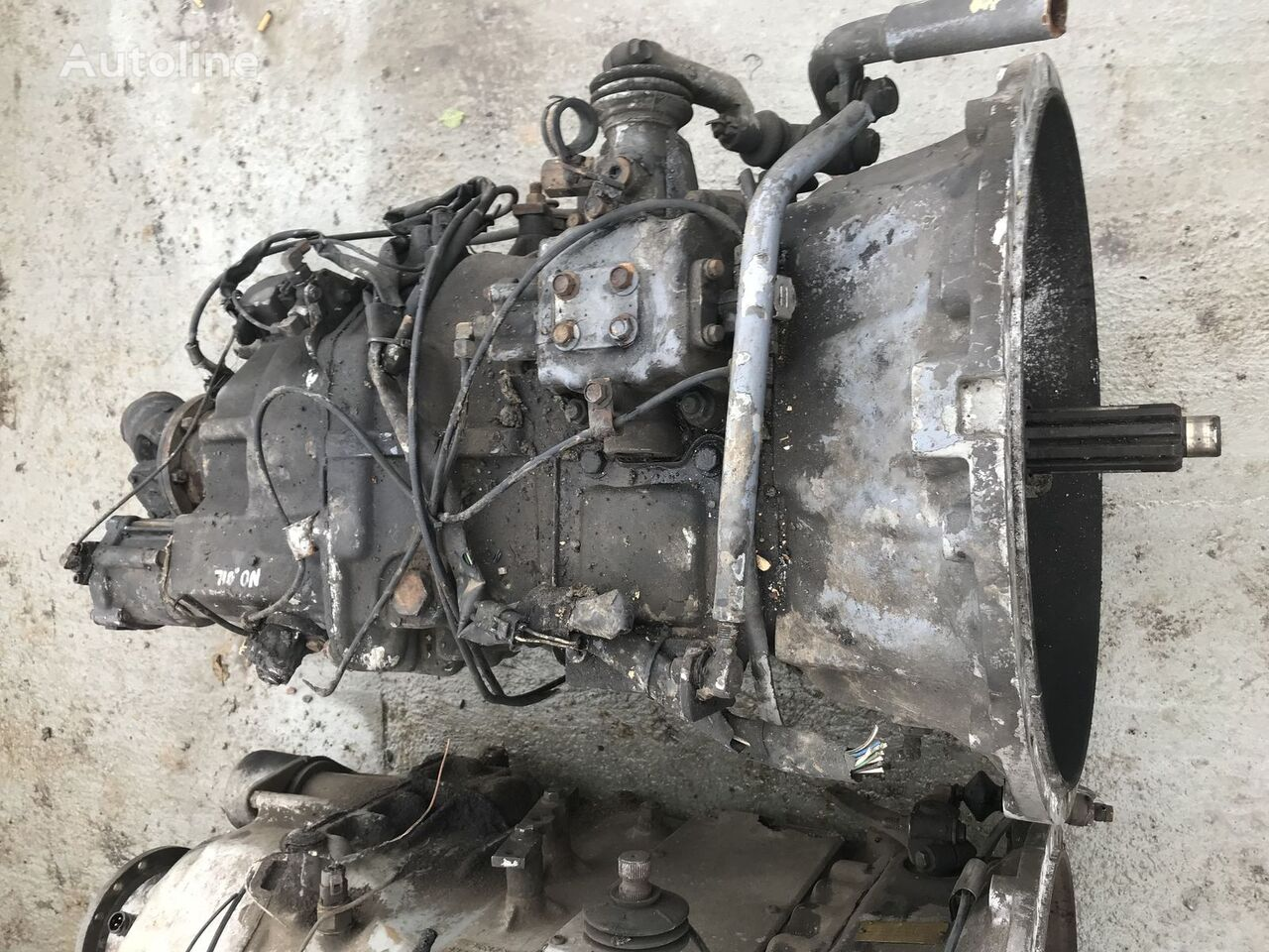 käigukast VOLVO R1000 10,18 tüübi jaoks veduki