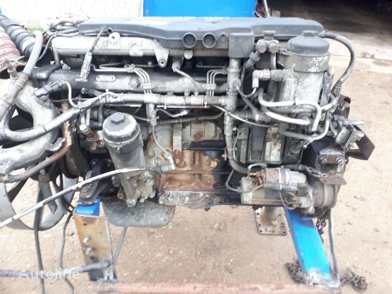 mootor MAN D0836LFL40 tüübi jaoks veoauto TGL 12.240