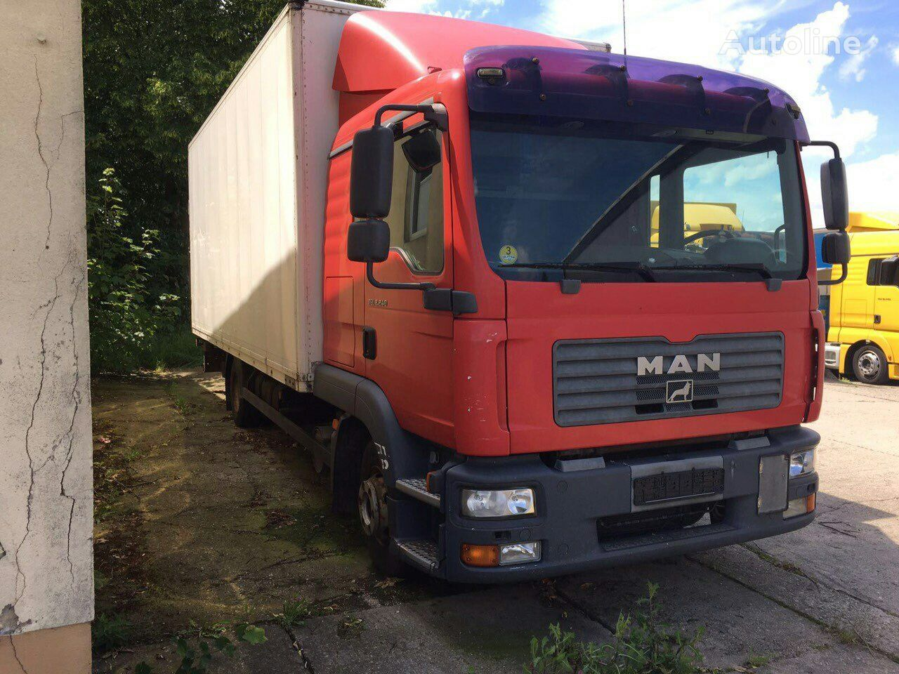 pidurisadul zadniy tüübi jaoks veoauto MAN TGL