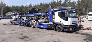 autotreiler veoauto IVECO + autotreiler haagis