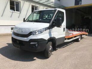 autotreiler veoauto IVECO Daily 50 C 18 Járműszállító Csörlővel és Rámpával