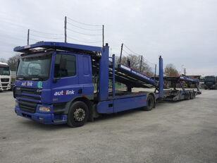 autotreiler veoauto DAF 75.360 + autotreiler haagis
