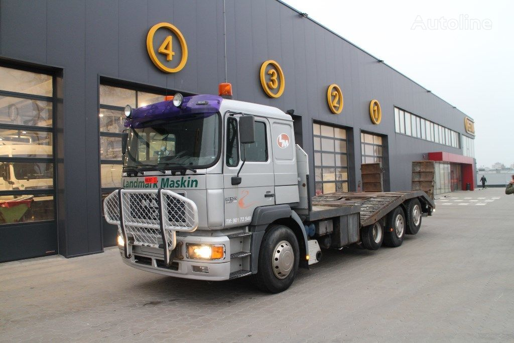 autotreiler veoauto MAN 26.403 original milage