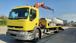 autotreiler veoauto RENAULT Premium 250.19 Crane Winch