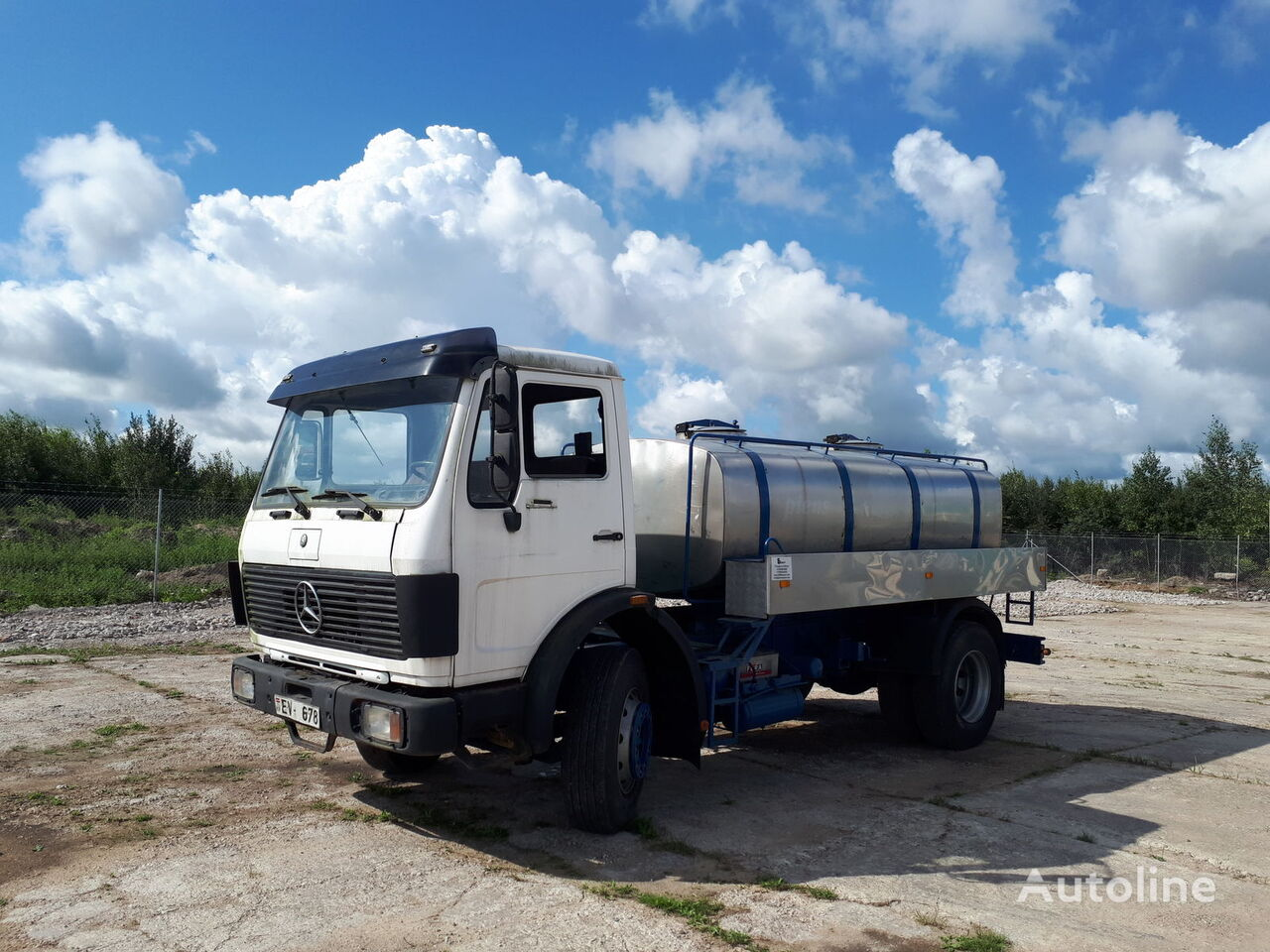 autotsistern veoauto MERCEDES-BENZ 1620 mil/water