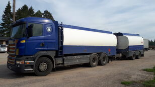 bensiiniveok SCANIA R420 6x2 fuel tank + kütusetsistern