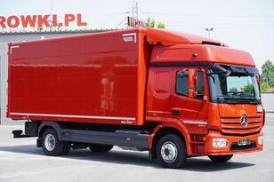 furgoonveok MERCEDES-BENZ Atego 1224, E6, 4x2, 6.10m container, GLOB cabin, retarder