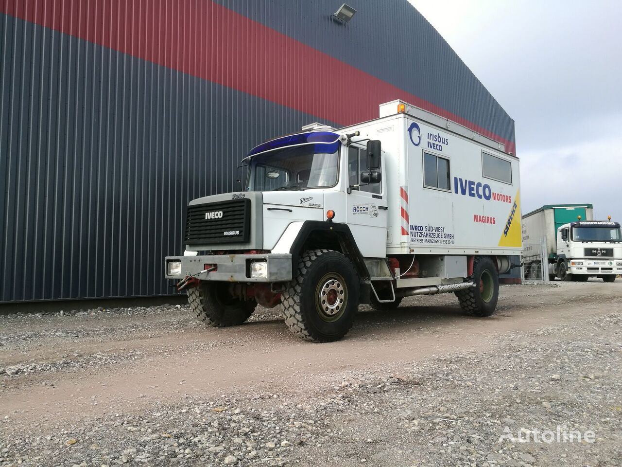 furgoonveok IVECO 120E16 4x4 Expedition truck