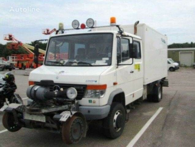 furgoonveok MERCEDES-BENZ 4x4 VARIO Schörling RAIL Two Way SchienenSERVICE