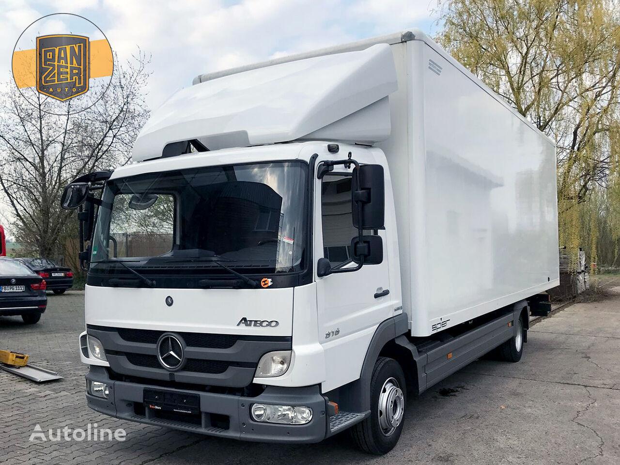 furgoonveok MERCEDES-BENZ ATEGO 816, furgon 18 palet, vorota