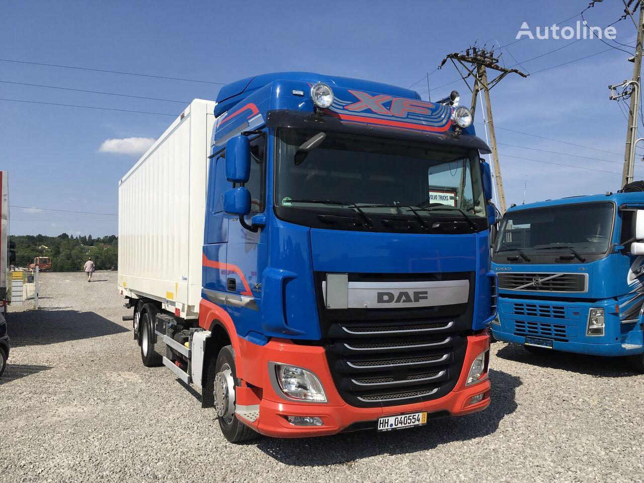 isotermiline veoauto DAF XF 106.440 E6 105 kontener 6x2 , Super stan