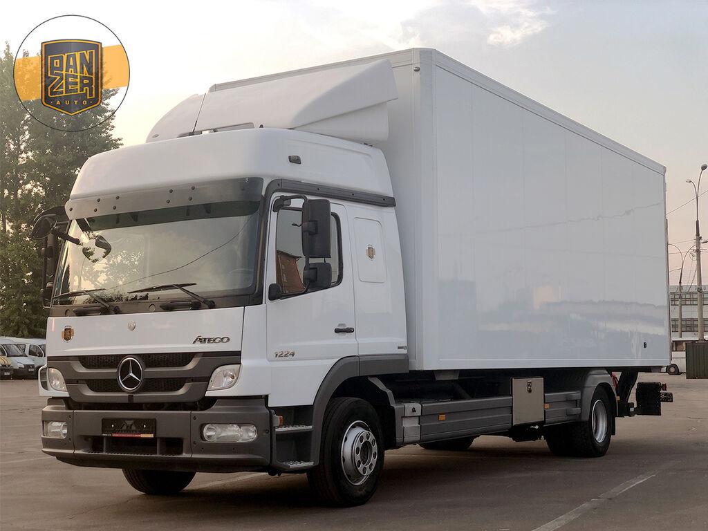 isotermiline veoauto MERCEDES-BENZ ATEGO 1224L, TERMOS 49 KUBOV