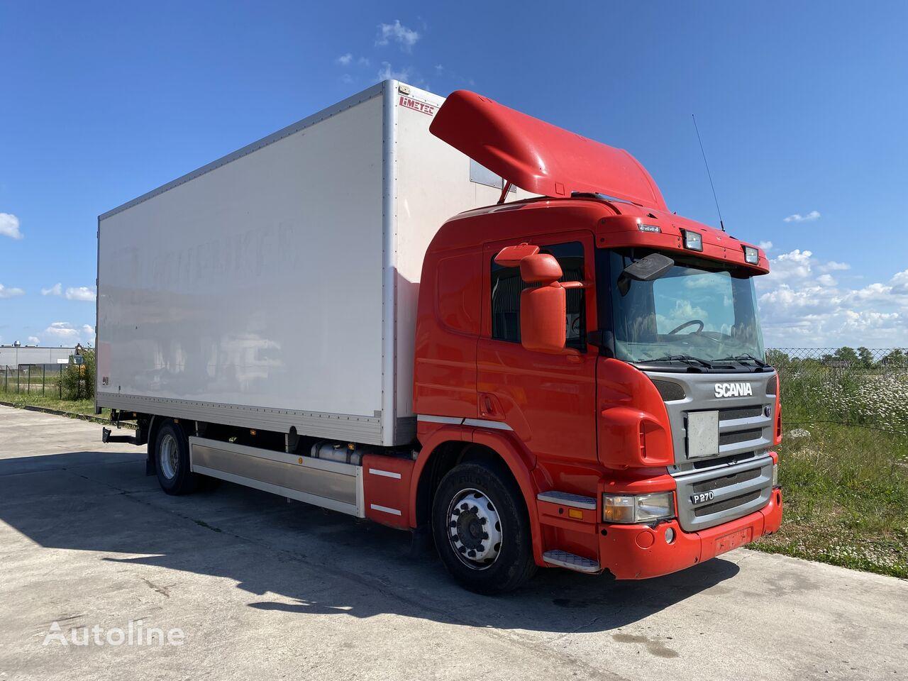 isotermiline veoauto SCANIA P270 Atidaromas šonas