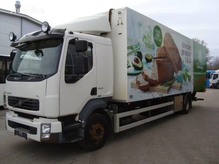 isotermiline veoauto VOLVO FL240 BUSSBYGG HEATED ISOTHERM BOX Euro 4