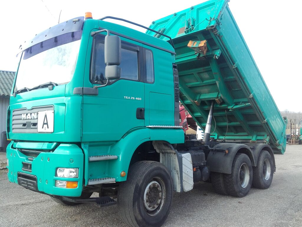 kallur veoauto MAN 26480(6x4)LINGINIS