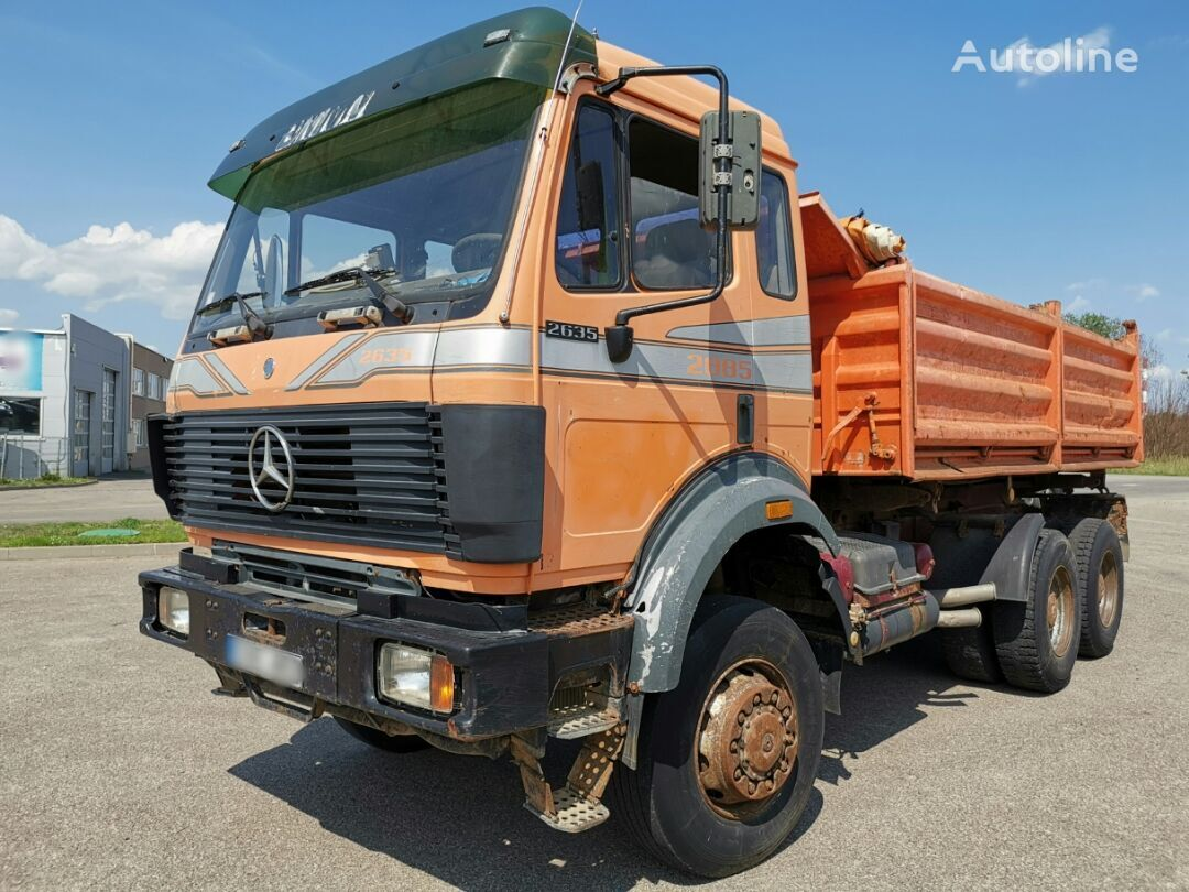 kallur veoauto MERCEDES-BENZ 2635