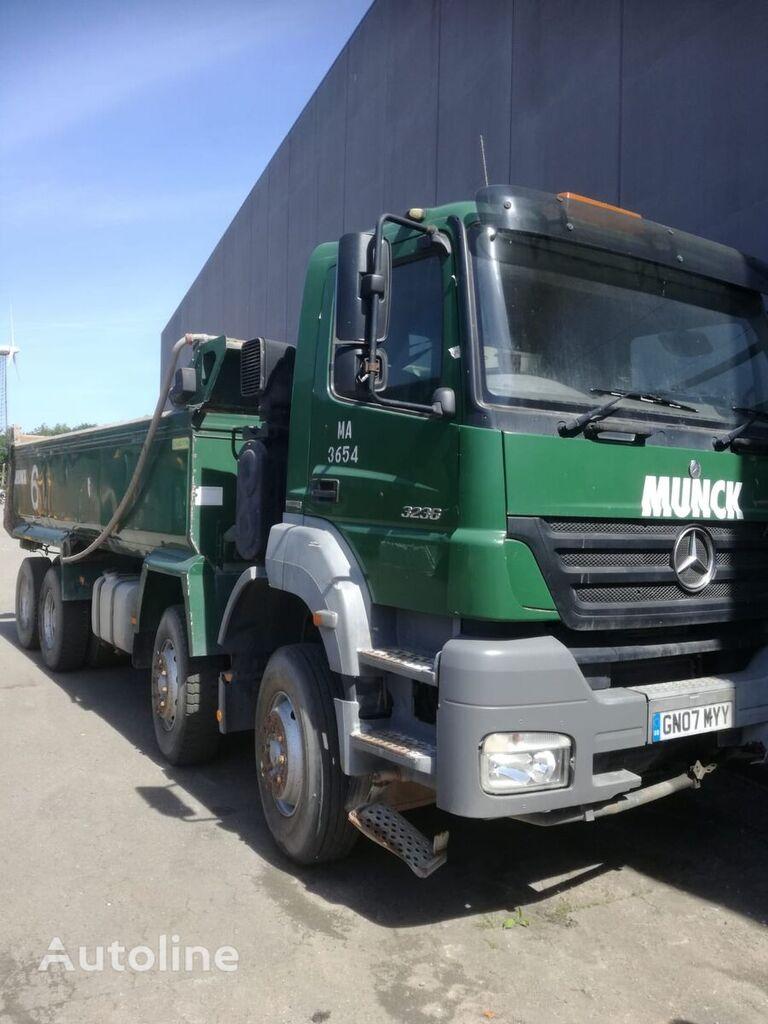 kallur veoauto MERCEDES-BENZ 3236 8x4 axor