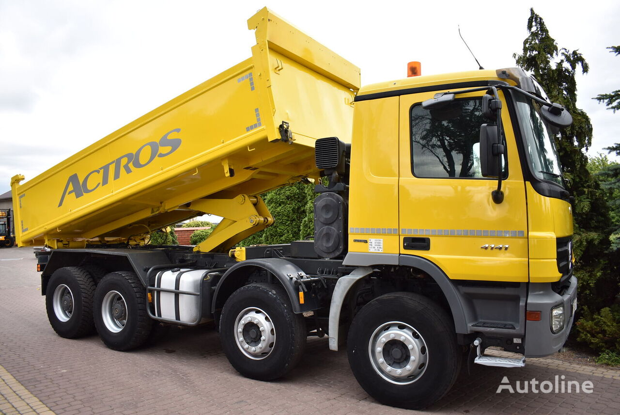kallur veoauto MERCEDES-BENZ ACTROS 4141 8x4 BORDMATIC *Insulated tipper*