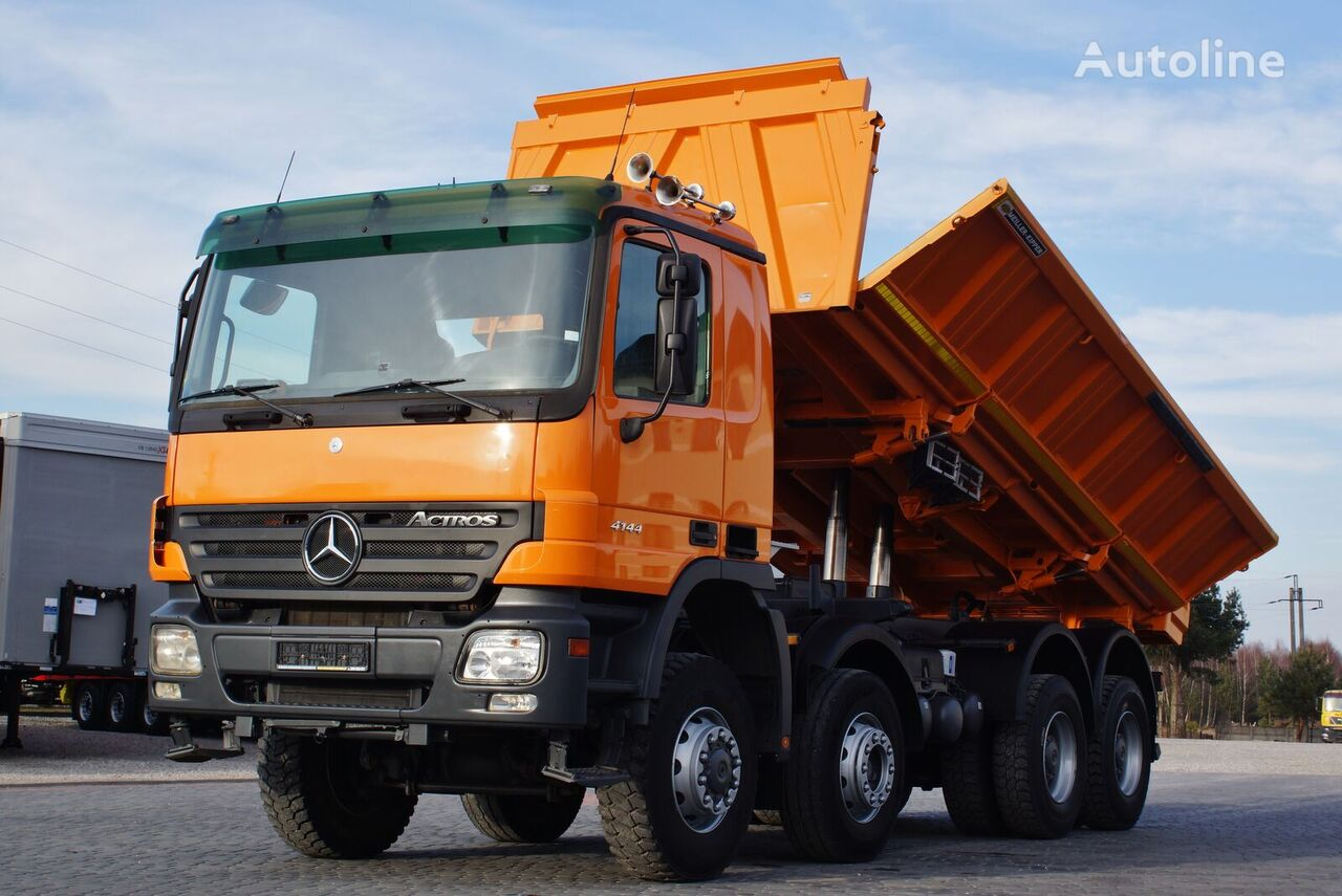 kallur veoauto MERCEDES-BENZ ACTROS 4144 BORDMATIC * GERMAN TRUCK *