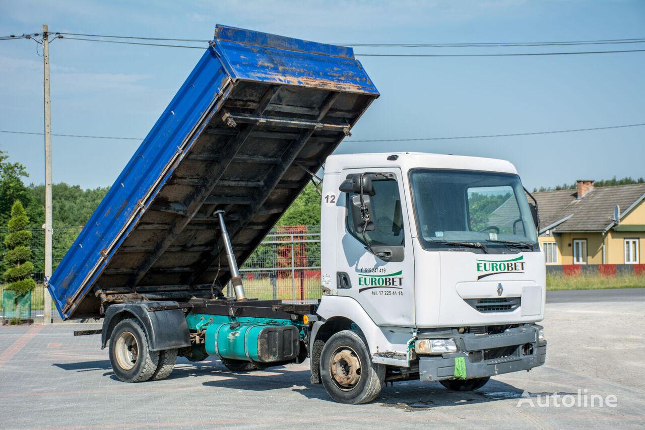 kallur veoauto RENAULT Midlum / 4x2 / Kipper / Manual /