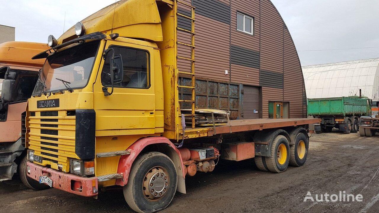 kallur veoauto SCANIA R 142 H kiper