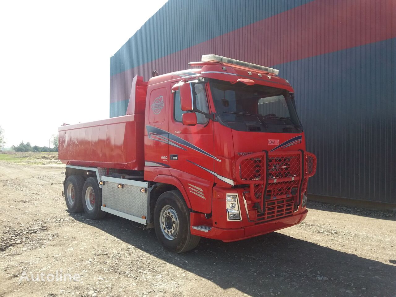kallur veoauto VOLVO FH 16.660, 6x4, retarder