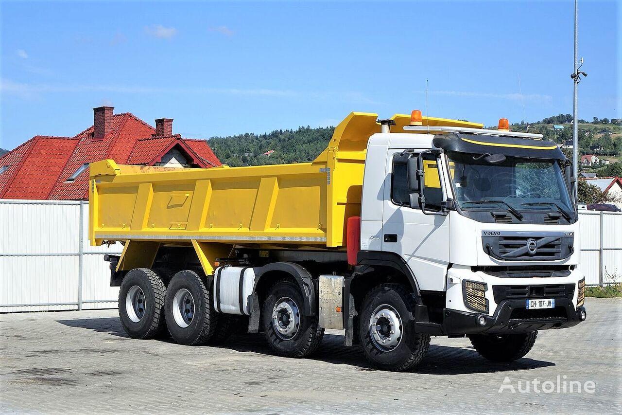 kallur veoauto VOLVO FMX 450 Kipper 6,10 * 8x4 Topzustand