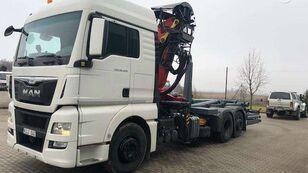 konkslift veoauto MAN 26.400, hooklift trucks