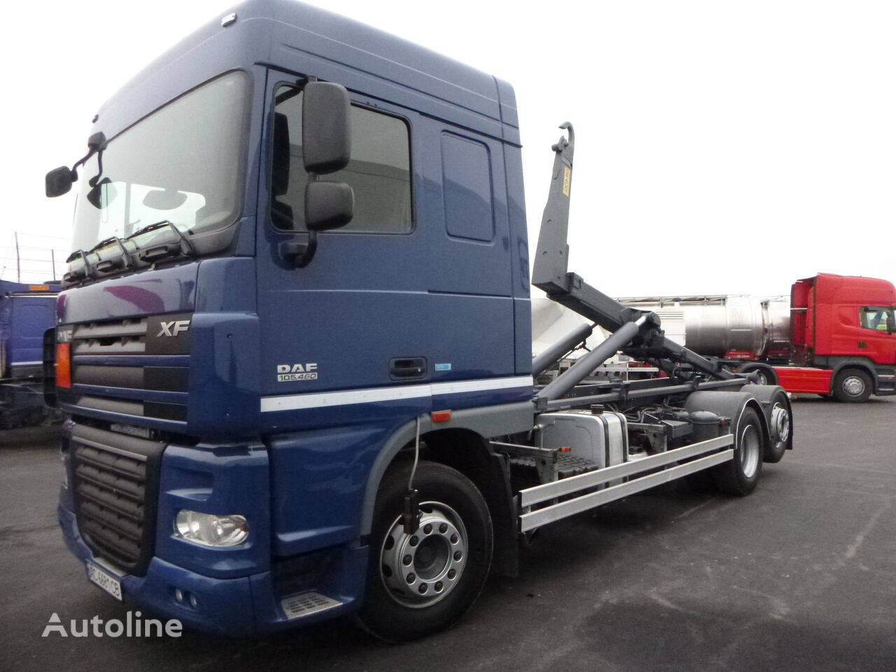 konkslift veoauto DAF 105.460