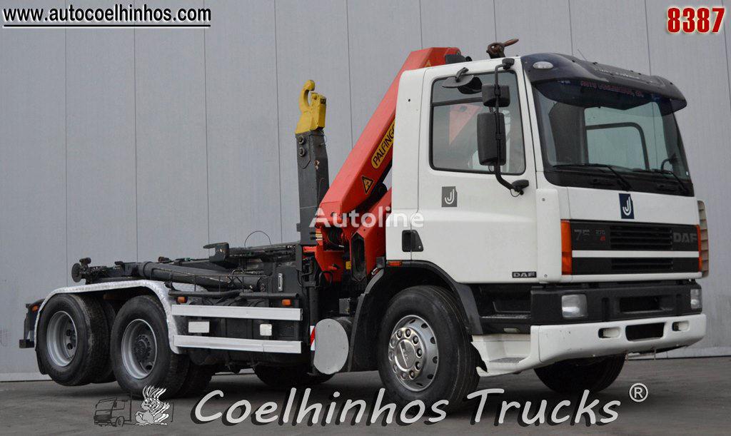 konkslift veoauto DAF 75CF 270