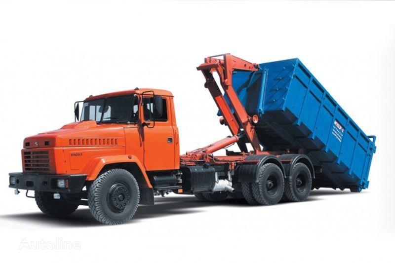 uus konkslift veoauto KRAZ 65053 MPR-1